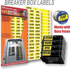 people also love these ideas  circuit breaker panel labeling