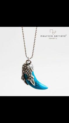 Blue Is a very Nice Color!!! #ATrueJewel. El azul un color muy Hermoso... #UnaVerdaderaJoya. Coleccion Dragon   #MauricioSerrano #Mexico #2014 #Love #Fashion #Art #Joyas #Diseñador #Plata #Silver #Jewelry #Xmas #Gifts #Happiness
