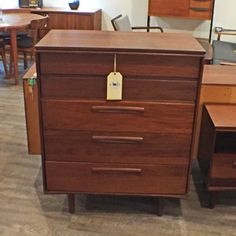 Designers (and those who love great design:)   More awesomeness Canadian Mid Cent....   You can check it out here: http://vintagehomeboutique.ca/products/canadian-mid-century-african-teak-tall-boy-dresser-by-imperial?utm_campaign=social_autopilot&utm_source=pin&utm_medium=pin