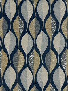 navy blue grey upholstery fabric by the yard by popdecorfabrics