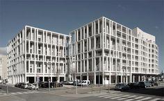 Clement Vergely Architectes - ZAC Berthelot Apartments, Lyon - Google Search