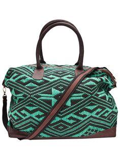 Jade Tribe Weekender Bag