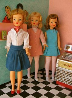 vintage (Ideal) Tammy dolls (1962-1967)