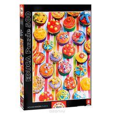 Разноцветные кексы. Пазл, 500 элементов