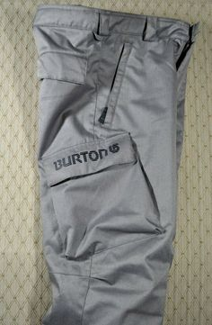 adea86558c7b25 (eBay Sponsored) BURTON DryRide Youth Snow Pants L (10 12) Gray