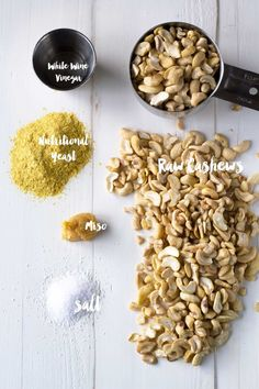 Use this savory cashew cream as a spread, add it to soups as a thickener, or use a soy-free vegan mayonnaise substitute!   http://eatwithinyourmeans.com