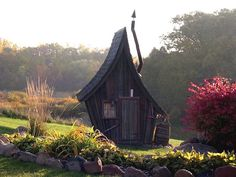 Whimsical Fairytale Cabins - This Distorted Cabin is Reminiscent of Classic Storybook Homes (GALLERY)