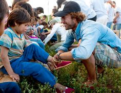 Toms Shoes founder Blake Mycoskie