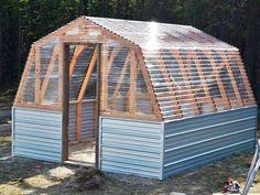 Solo necesitas los planos de la estructura para montarte este espacioso invernadero.Ana White - Solo necesitas los planos de la estructura para montarte este espacioso invernadero.Ana White
