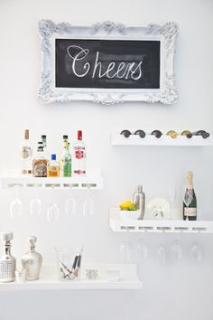 Like the idea of this for behind our bar that we're building, have to modify it to match our style. :)