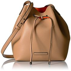 c4b5c2654f A X Armani Exchange Petite Faux Leather Bucket Bag
