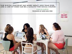 Mujeres del mundo de la tecnología posan en ropa interior - Belelú