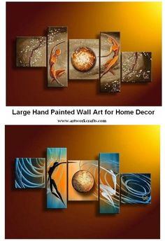 Extra large hand painted art paintings for home decoration. Large wall art, canvas painting for bedroom, dining room and living room, buy art online. Art Painting, Multi Panel Canvas Art, Wall Art Painting, Abstract Canvas Painting, Modern Abstract Painting, Canvas Wall Art Set, Hand Painted Canvas, Bedroom Wall Art Painting, Huge Wall Art