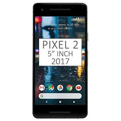 "Pixel 2 Phone (2017) by Google, G011A 64GB 5"" inch Factory Unlocked Android 4G/LTE Smartphone (Just Black) - International Version 5.0"" inch, AMOLED capacitive touchscreen, 16M colors, 1080 x 1920 pixels, Corning Gorilla Glass 5 Network Compatibility : 2G GSM 850 / 900 / 1800 / 1900 and/or 3G 850(B5) / 900(B8) / 1700