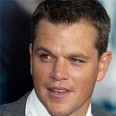 Matt Damon...sexy as ever!