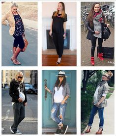 How To Avoid A Fashion Disaster In The Last Trimester - Pregnancy Looks, Pregnancy Months, Lisa Miller, Maternity Fashion, Maternity Style, Baby Bumps, What To Wear, Capri Pants, Dressing
