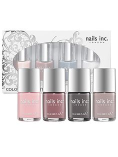 Nails Inc Color Collection–Neutral, $25 - 19 Holiday Gifts For Mom - Seventeen