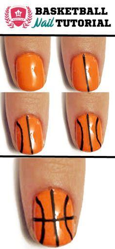 Jamberry Wrap, Basketball Nail Art, Nailart, Nails Beauty, Jamberry Nails, Makeup, Basketball Nails, Nail Tutorials, Hair Nails
