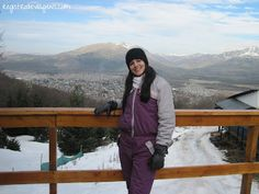 Registro de Viagens: Bariloche: Esquiando em Piedras Blancas!