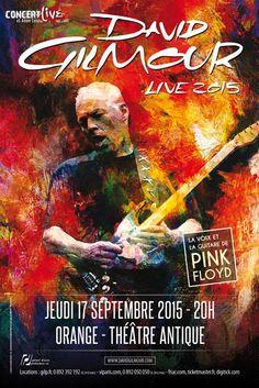 David Gilmour né le 6 mars 1946 à Grantchester