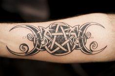 wiccan goddess symbol tattoo - Google Search