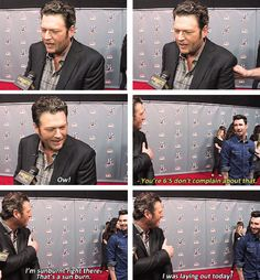 Making Blake Shelton and Adam Levine judges on the same show is the best thing anyone has ever done. Love The Voice!