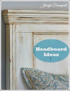 Bedroom Headboard Ideas - Unique and creative headboard ideas!
