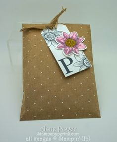 Stamps, Paper, Ink Create!: Monogram Note Cards -Sophisticated Serif Stamp Set by Stampin' Up!