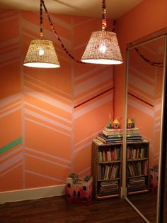 When it comes to chic interior design, One of the most important thing is the design of the wall.Here are a very creative stenciled wall design ideas Kid Room Decor, Interior Wall Paint, Stencils Wall, Wall Treatments, Herringbone Wall, Wall Painting, Wall Painting Decor, Bedroom Paint Colors, Interior Walls