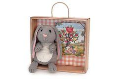 Bunny Hand Puppet Gift Crate on OneKingsLane.com