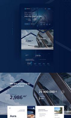 Genesis Token Sale on Behance Landing Page Inspiration, Website Design Inspiration, Graphic Design Inspiration, Website Design Layout, Web Layout, Layout Design, Design Sites, Web Ui Design, Portfolio Web Design