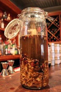 Saigon Cinnamon & Walnut Bitters Recipe--would make individual infusions and mix Fun Drinks, Yummy Drinks, Beverages, Coffee Recipes, Wine Recipes, Kombucha Health Benefits, Bitters Recipe, Bitter Greens