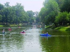 Drost Park in Maryville, Illinois is hosting Kayak Day on July 1st. Get your boats ready Illini!
