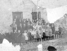 Florida Memory - Students posed for a group photo in front of the school building - Shady Grove, Florida School Building, Group Photos, Students, Florida, Mary, Memories, Poses, Memoirs, Figure Poses