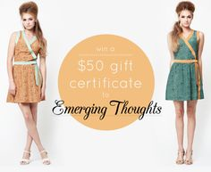 Emerging Thoughts Giveaway! | Wonder Forest: Style, Design, Life.