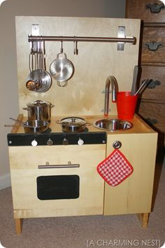 How to make a kitchen using IKEA supplies. Good ideas!