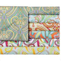 Shop for Expressions Paisley Print Easy Care Sheet Set. Free Shipping on orders over $45 at Overstock.com - Your Online Sheets