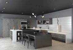 greyscale-kitchen-with-neutral-wood-cabinets.jpg 1,200×828 pixels
