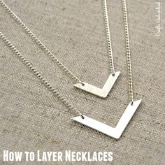 How to Layer Necklaces - The Foolproof Way!