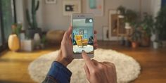 Jednou z prvních mainstreamových aplikací využívající režim rozšířené reality ARkit je titul IKEA Place. Jedná se o aplikaci, v rámci které si můžete virtuální katalog nábytku stej