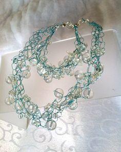 118 Best Jewelry Wire Crochet Knit Images Wire Crochet Chrochet