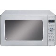 Panasonic Prestige Countertop/Built-in 2.2 cu. ft. 1250W Microwave Oven in Stainless Steel-NNSD997S at The Home Depot