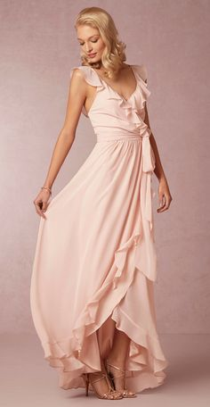 Your guide to finding pretty blush or pink bridesmaid dresses for weddings with a blush or pink color scheme. Cute pink bridesmaid dresses in rose, blush, pink, hot pink! Find blush and pink dresses for your bridesmaids easily! Light Pink Bridesmaid Dresses, Blush Pink Bridesmaids, Used Wedding Dresses, Party Dresses, Occasion Dresses, Bridesmaid Gowns, Wedding Bridesmaids, Just Girly Things, Bridal Gowns