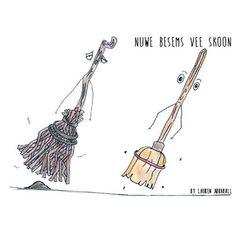 Idioom: NUWE BESEMS VEE SKOON deur Lauren Abrahall @viva_afrikaans #viva_afrikaans #idioom #parklandscollege #graad10 #AddisioneleTaal