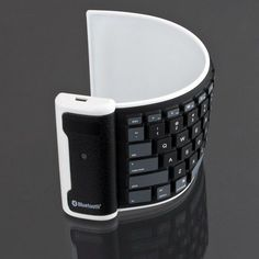 Waterproof Wireless Roll Up Keyboard