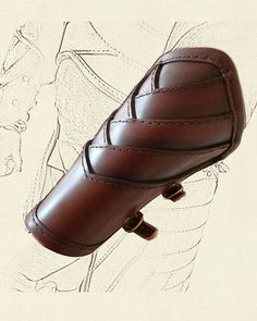 Vambraces – Elven Style A Arm Armor, Body Armor, Larp, Leather Bracers, Arm Guard, Knight Armor, Leather Carving, Armor Concept, Medieval Armor