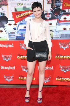 "Ginnifer Goodwin - Grand Opening Of ""Cars Land"" At Disneyland Resort"