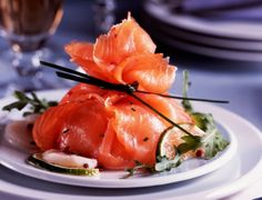 recette de l'Aumônière de saumon aux coquilles Saint-Jacques decodesign / Décoration