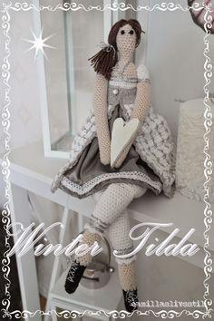 Camillas livsstil: Virkad Vinter Tilda - Crochet Winter Tilda