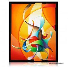 "Peinture abstraite ""Smell like painter spirit"""
